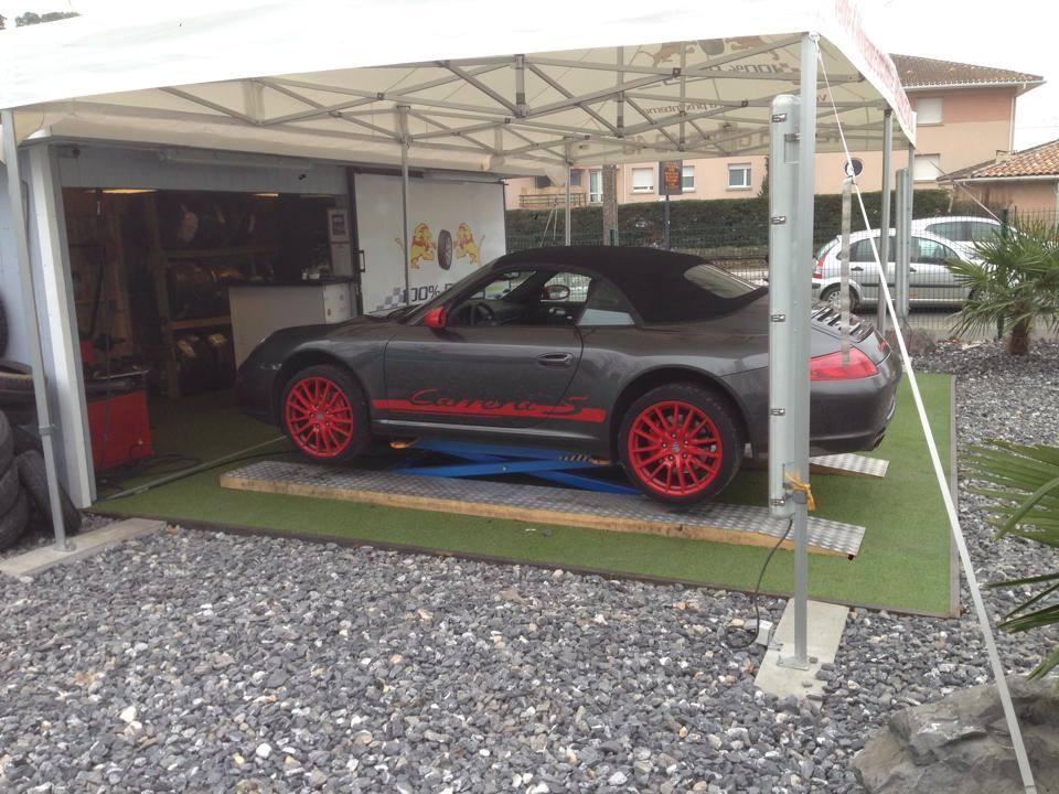 Montage Porsche Carrera