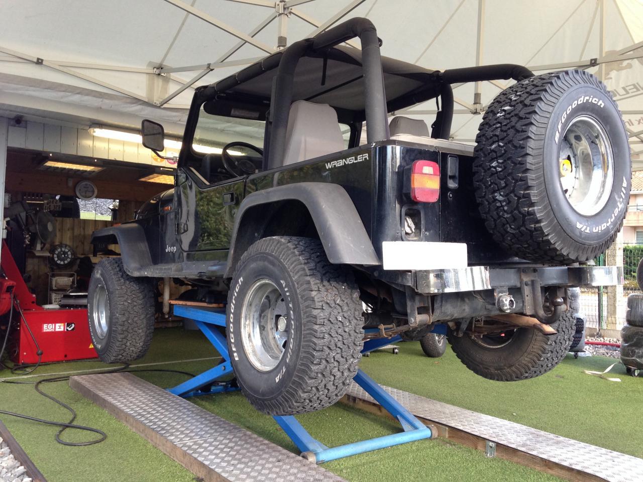 Montage Jeep Wrangler