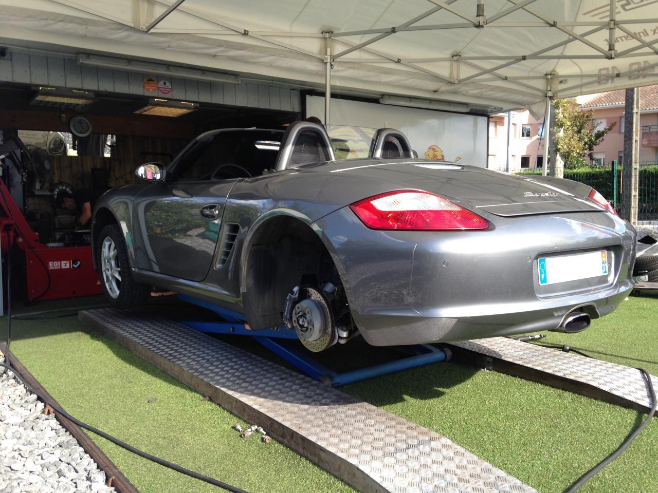 Montage Porsche Boxster