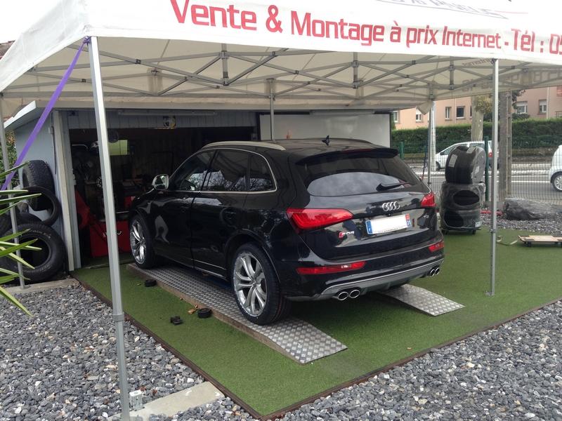 Montage Audi S-Q5