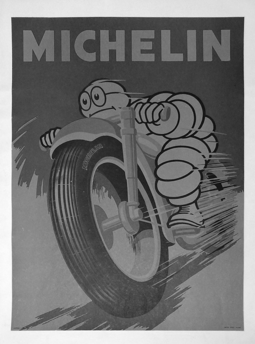 Affiche michelin