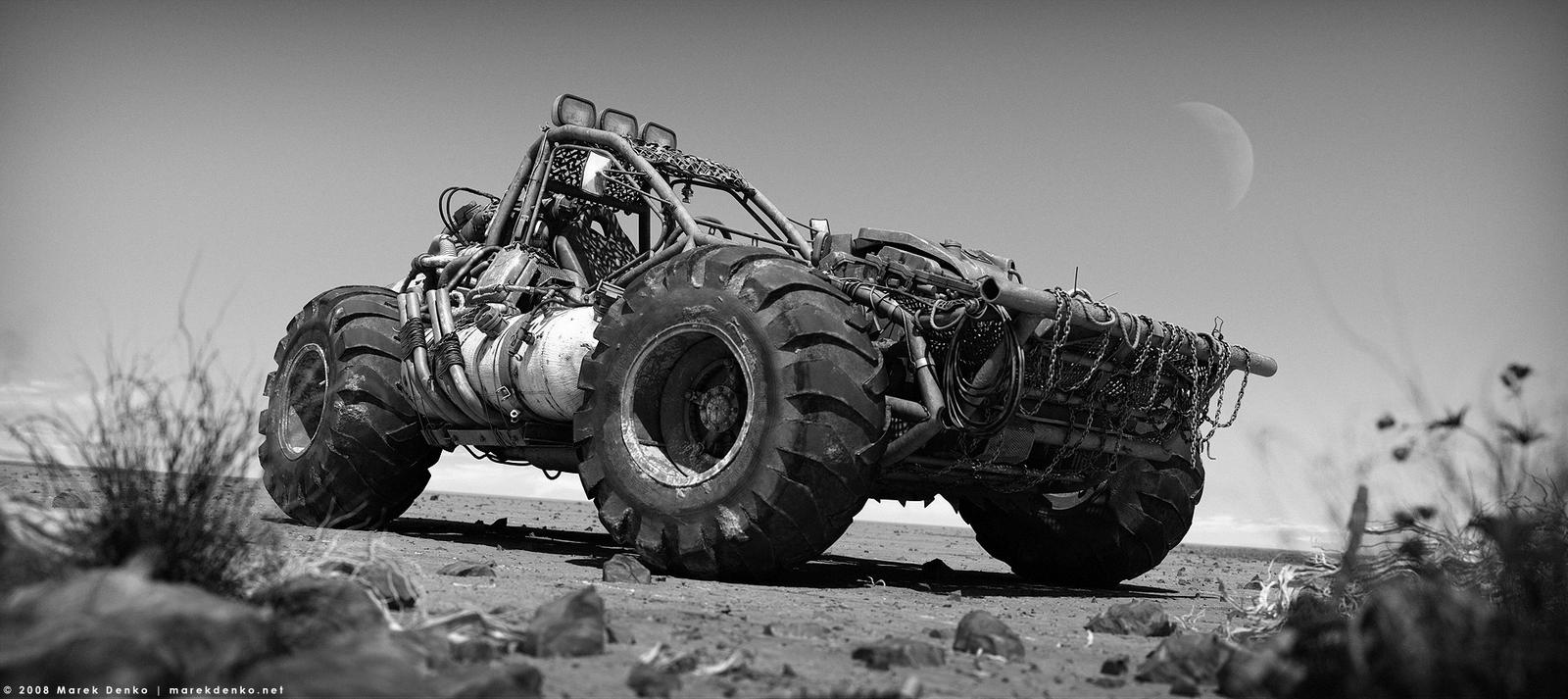 Buggy desert