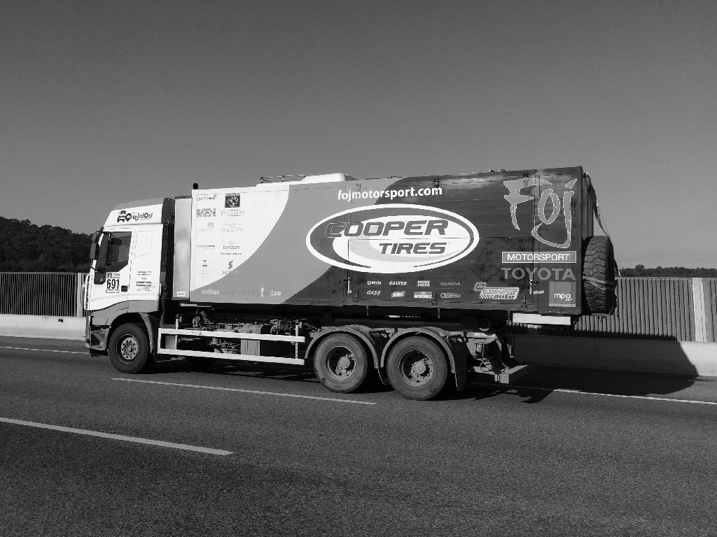 Camion assistance cooper
