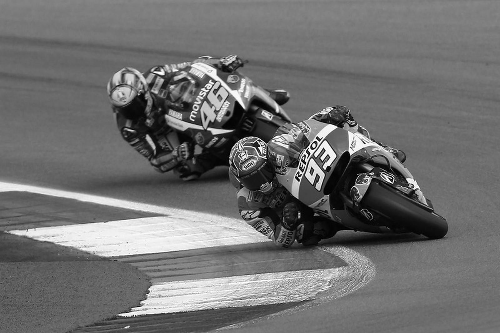 Rossi marquez 2015